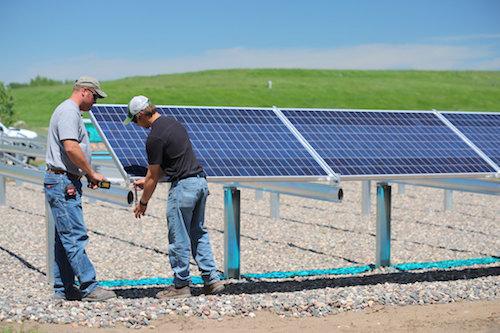 solar power development