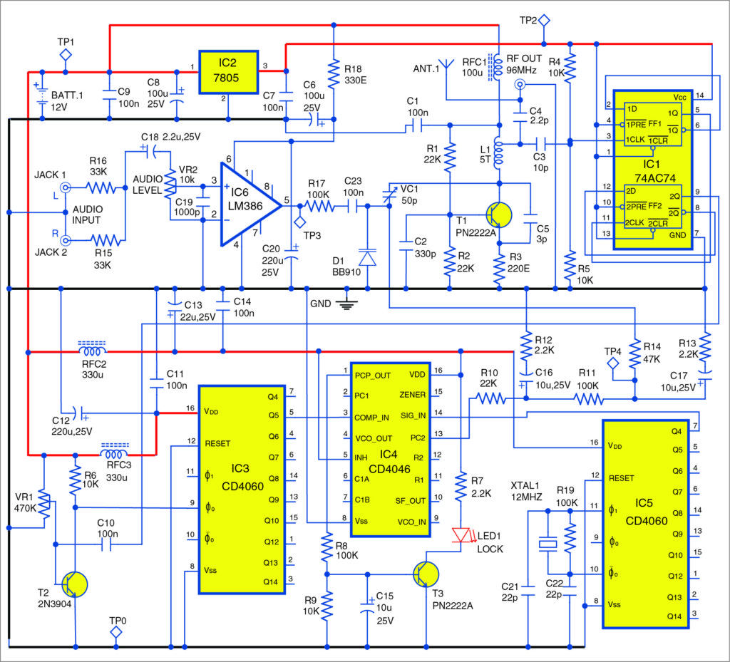High Fidelity Fm Transmitter Detailed Circuit Diagram Available 1000 Images About Electronics On Pinterest Of The