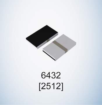 GMR series compact high power low ohmic shunt resistors 6432