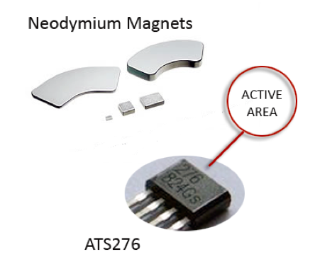 Magnet Operated Toggle Switch: Neodymium magnets