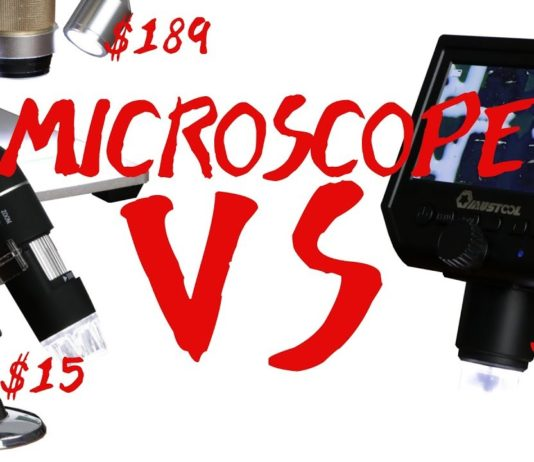selecting a microscope