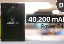 DIY 40,200 mAh power bank