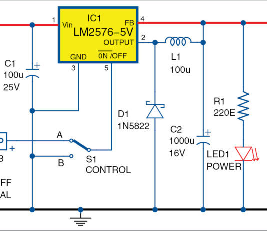USB power circuit