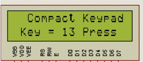 Single-wire 4x4 matrix keypad using AVR | Full Electronics Project