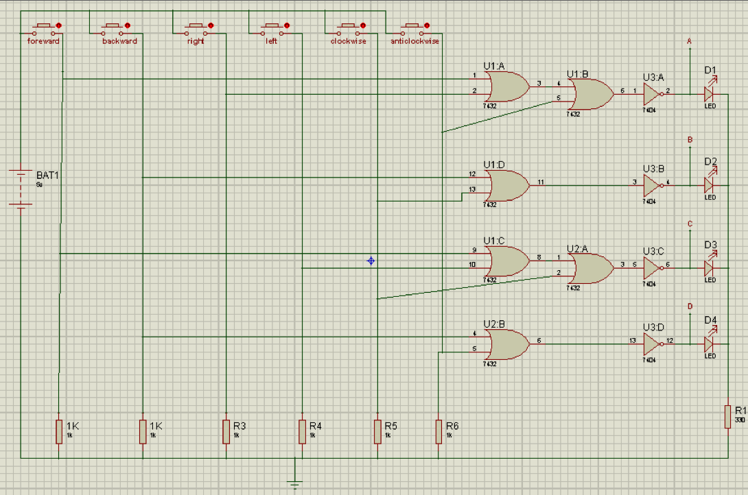 Make Your Own Joystick For Rf Controlled Robot Prototype Circuit Diagram