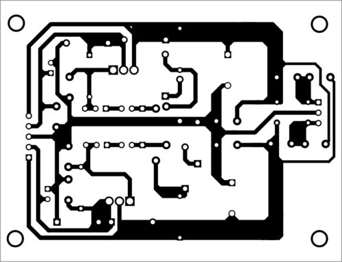PCB layout for the bipolar power supply