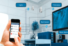 controlling appliances around the house through a mobile