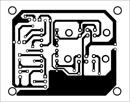 PCB layout of bi-directional DC motor control