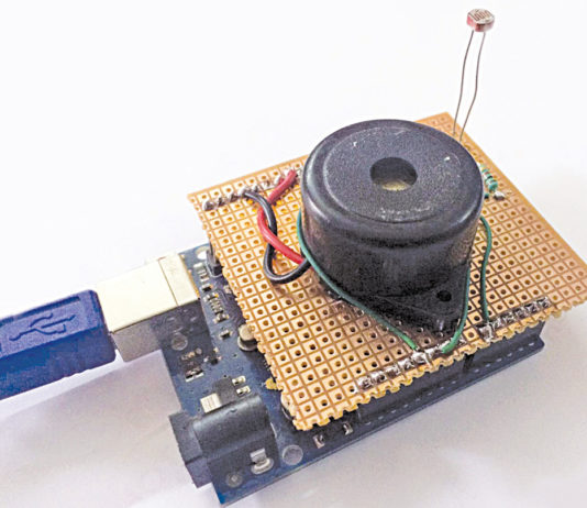 1001 free electronics projects ideas for engineers optical theremin musical instrument using arduino uno board engineering projects for you solutioingenieria Choice Image
