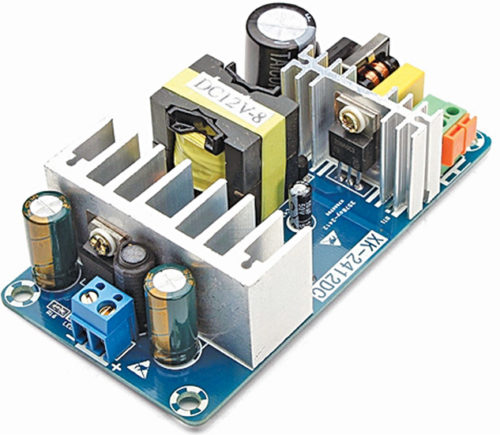 6A-8A, 12V switch-mode power supply