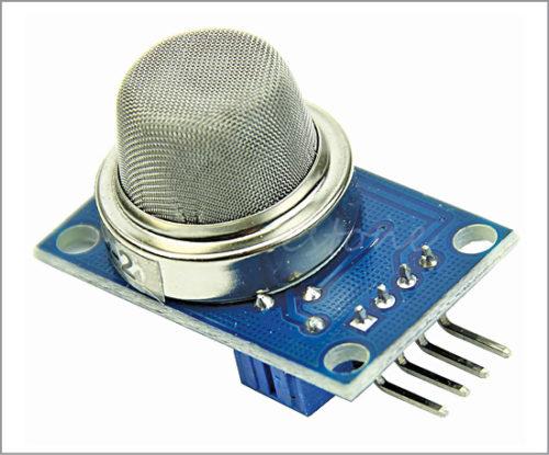 Arduino-compatible smoke sensor