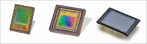 Different types of image sensors