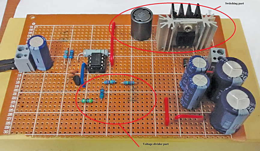 HVDC Power Supply Design prototype