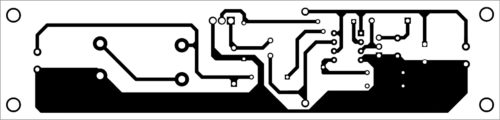 PCB layout of HVDC power supply