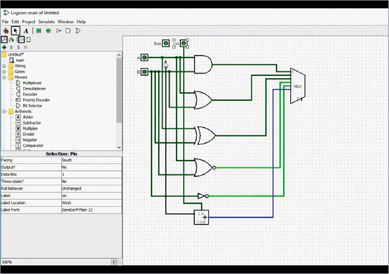 Logisim A User Friendly Logic Simulator Software Review Circuit Designing And Simulating Digital Logical Circuits