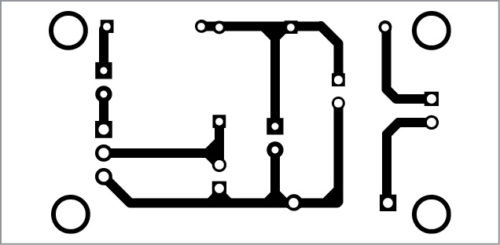 PCB layout of little nightlight