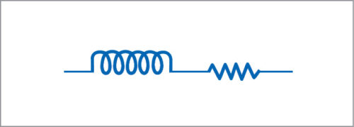 Equivalent circuit for a wire at high frequency