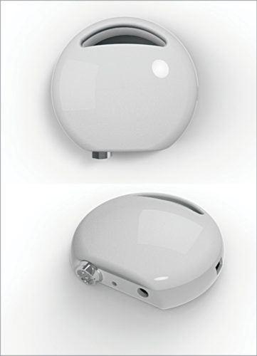 Portable ventilator by A-SET and AIIMS