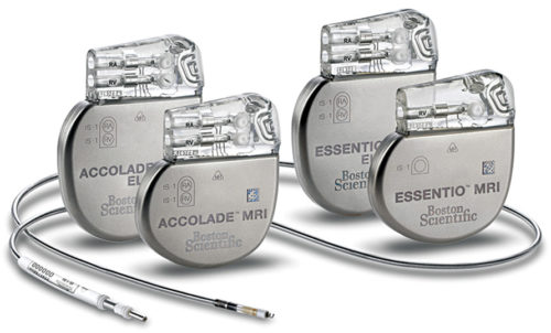 Typical pacemaker (Courtesy: www.bostonscientific.com)