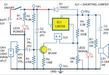 Voltage Regulator as Audio Amplifier