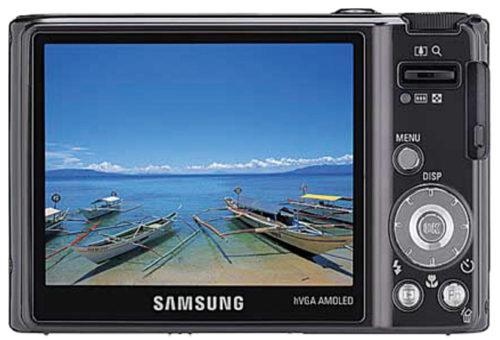 Digital camera with OLED screen