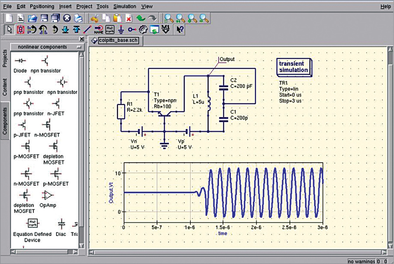 Quite Universal Circuit Simulator A Tool That Justifies Its Name Amp Simulation And Descriptions Electronic Circuits Projects