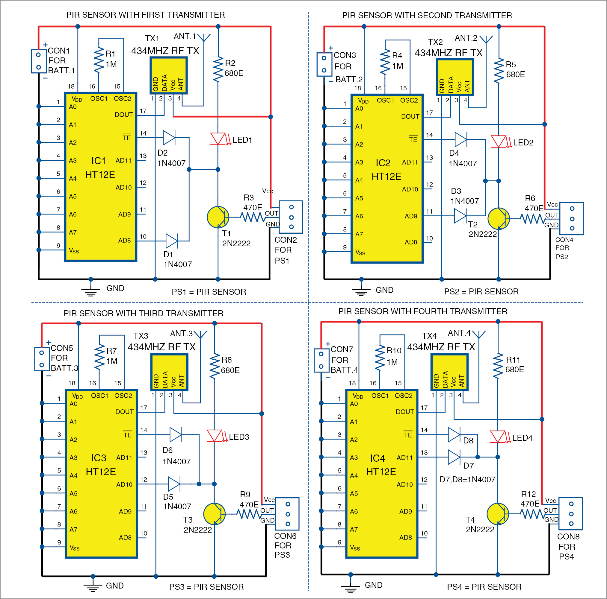 Am Transmitter Schematic For Science Fair Project Circuits Gallery
