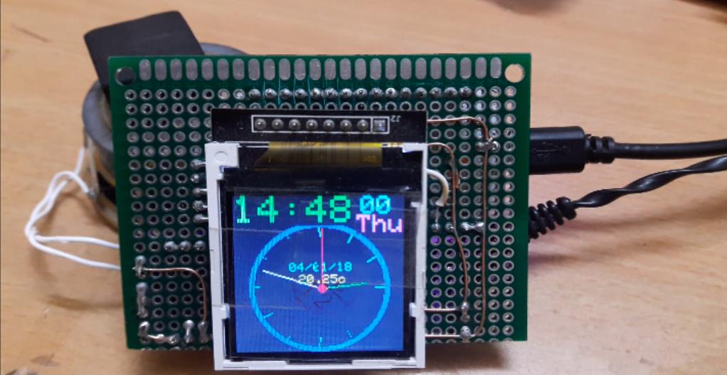 ESP32 Development Board Talking Clock   Prototype Project