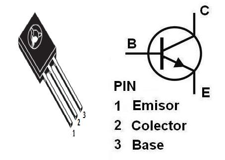 BD-139 NPN transistor