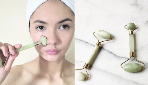 Jade face rollers