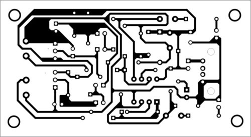 PCB layout for dual level shifter and buffer