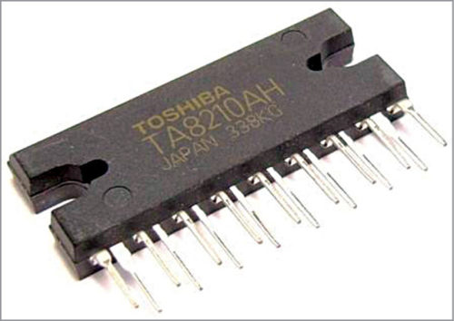 2-channel audio amplifier IC