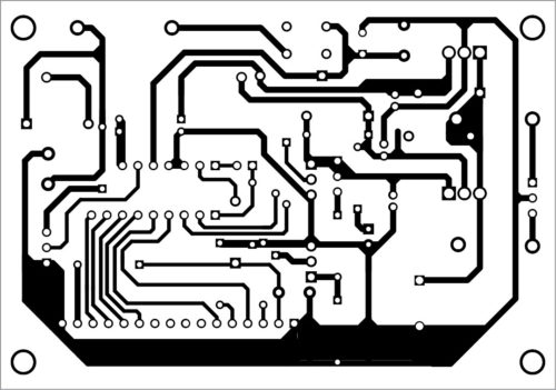 PCB layout of battery charger