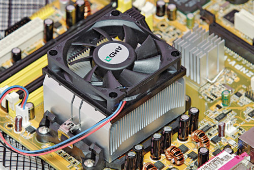 Use of heat-sink