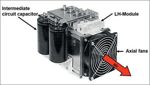 Forced air cooling of electronics