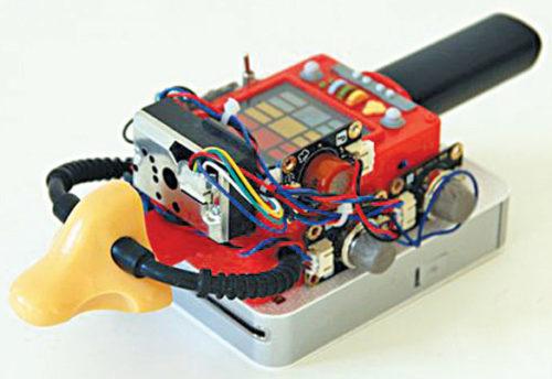 Electronic nose module