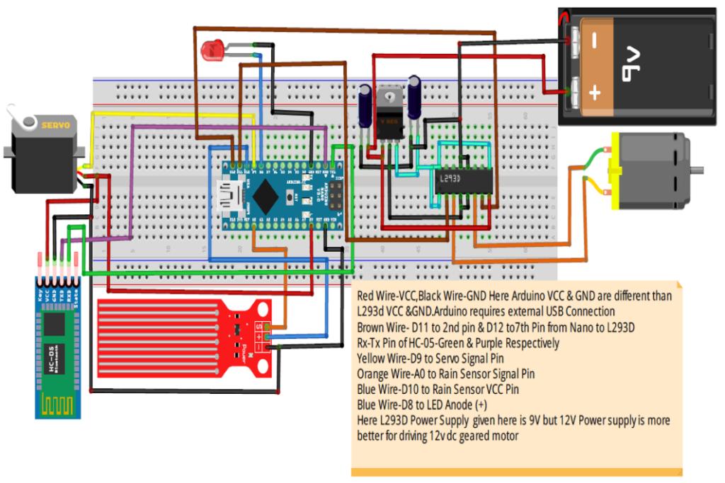 Tremendous Arduino Nano Based Car Security Automatic Wiper System Wiring 101 Mentrastrewellnesstrialsorg