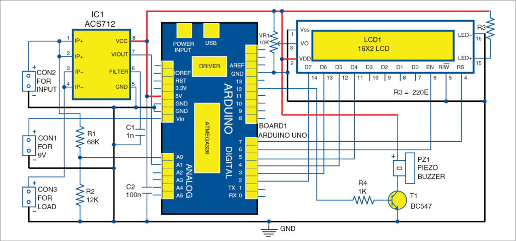 DC Panel Meter using Arduino | Full Electronics Project