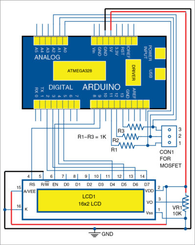 Arduino-Based MOSFET Terminal Identification System