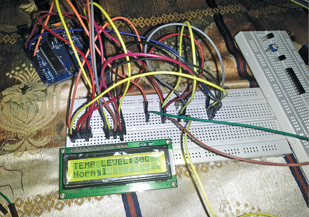 Arduino-Based Coil Winding Temperature Recorder and Alarm