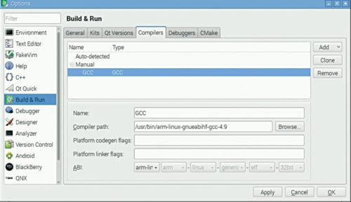 Setting Up Qt software on Raspberry Pi & Its Basic Application
