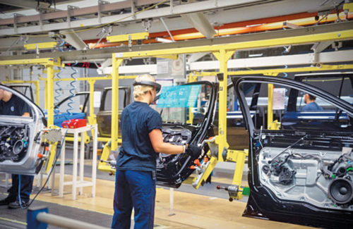 The IoT and AR in Volvo assembly line