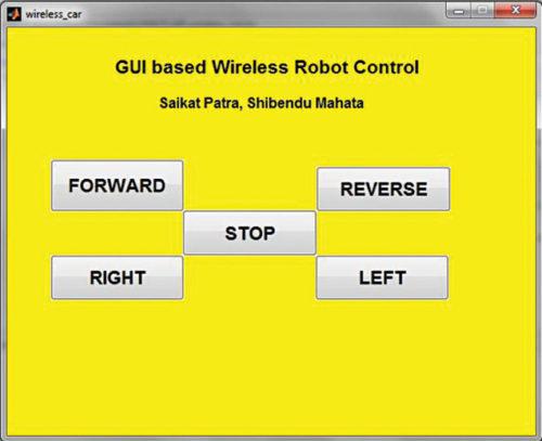 Wireless Control of Robotic Car Through MATLAB GUI | Full