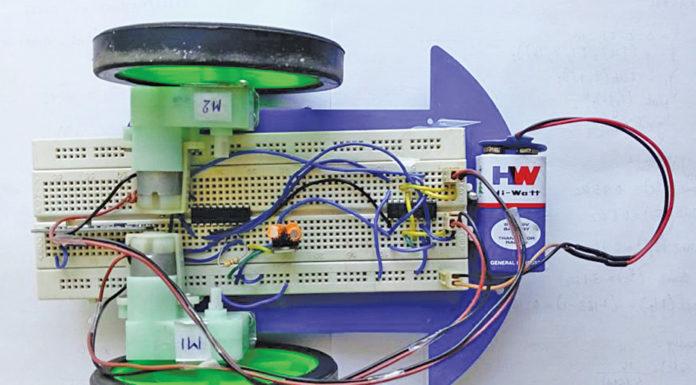 Authors' prototype of robotic car