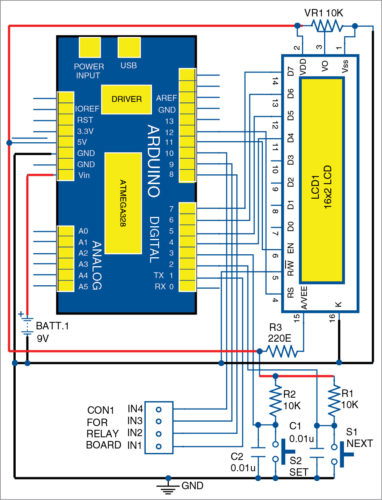 Interactive Electrical Equipment Control using Arduino