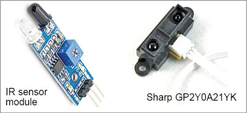 Common IR sensor modules