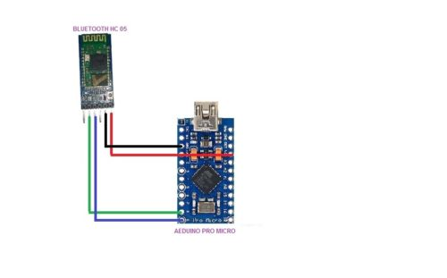 Accelerometer based Wireless 3D Air Mouse With Arduino