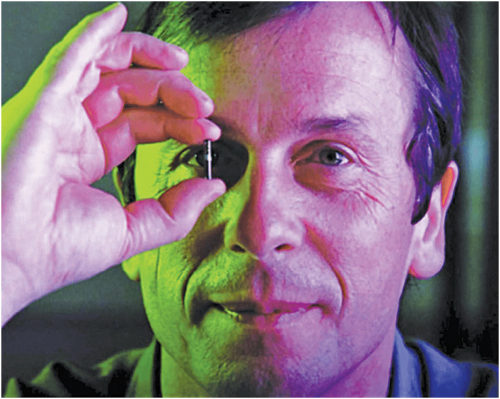 Kevin Warwick was the first to conduct experiments with respect to implants