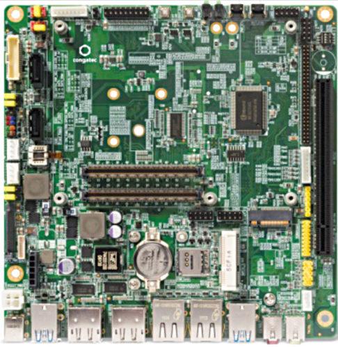 conga-IT6 Mini-ITX motherboard (Credit: congatec)