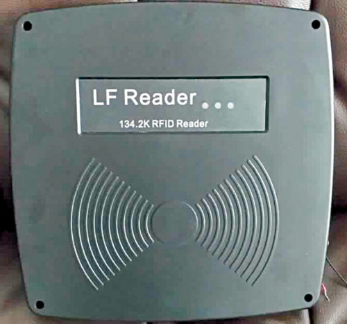 Animal RFID glass tag LF 125kHz RFID reader